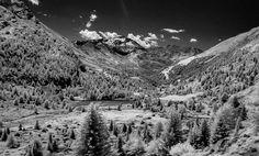 In cammino verso il #ghiacciaodeiforni  #infrared #alpes #valtellina