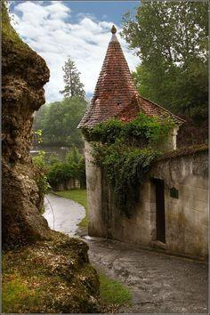 "mybeautifulfrance: "" Bourdeilles, Dordogne , France """