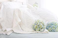 Spring Bedroom Refresh + Pure Linen Sheets
