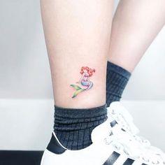 Tatuajes de Encanto de Sirena