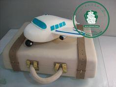 bolo maleta de aviador