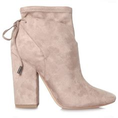 Kendall and Kylie Zola Suede Boots Blush ($175) ❤ liked on Polyvore featuring shoes, boots, zapatos, suede leather boots, suede shoes, pink shoes, pink suede shoes and suede boots
