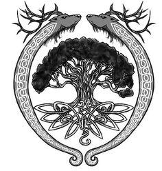 entrelacs arbre dragon celte - Recherche Google