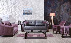 Canapea extensibila 3 locuri Fortuna Dark Grey K1 #homedecor #interiordesign #inspiration #decoration #livingroom #livingroomdecor Sofa, Couch, Love Seat, Furniture, Home Decor, Settee, Settee, Decoration Home, Room Decor