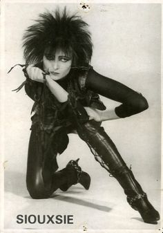 Siouxsie Sioux of Siouxie & the Banshees