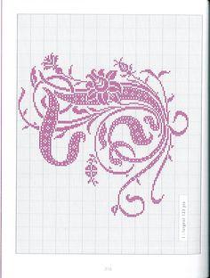 Gallery.ru / Фото #161 - Belles lettres au point de croix - logopedd
