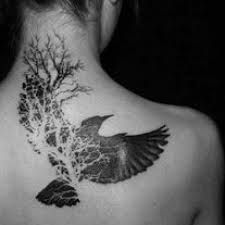 so cool! I love when tattoos morph into other images