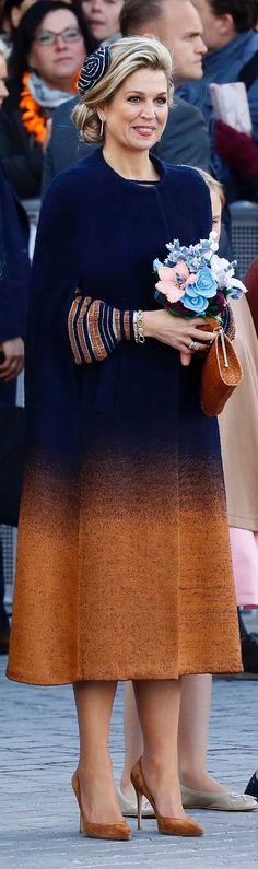 Poll: De mooiste outfit van Máxima van 2017 - Blauw Bloed
