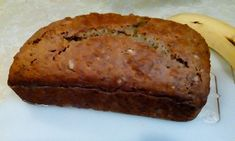You'll never need another banana bread recipe ever again! Best Banana Bread, Banana Bread Recipes, Apple Rhubarb Pie, Loaf Pan, Blueberry, Breads, Deserts, Oven, Good Food