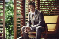 #HouseofFraser #SS16 Logan Macrae shot by Diego Merino    #tailoring #suit #summer