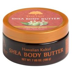 Tree Hut Shea Body Butter, Hawaiian Kukui, 7 Ounces (Pack of Raw Cocoa Butter, Kukui Oil, Tree Hut, Shea Body Butter, Beauty Book, Beauty Tips, Beauty Hacks, Thing 1, Natural Moisturizer