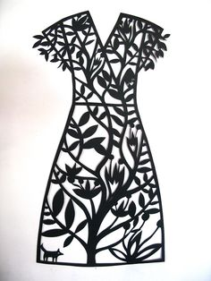 this paper cut life Silhouette Files, Silhouette Design, Silhouettes Clothing, Wallpaper Stencil, African Crafts, Black White Art, Silhouette Portrait, Scan And Cut, Print And Cut
