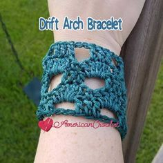 Dress up your Summer wardrobe with this lovely Drift Arch Bracelet. It is cute, fun, and quick to make. Whip several up within an hour! It is also great