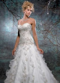 ...or I could wear this... for my next wedding...