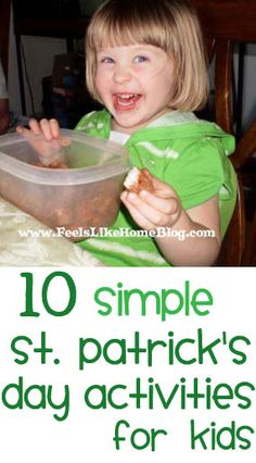 10 Ways to Celebrate St. Patrick's Day with Your Kids
