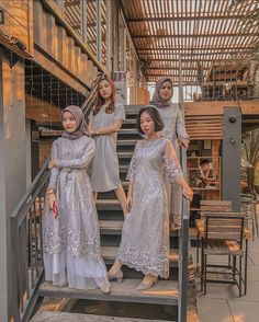 """Inspirasi Wedding Cantik on Instagram: """"Open order  Bisa Request size,warna, & couple  Budget bisa menyesuIkan yg kalian butuhkan  ada harga ada kualitas  Berbagai inspirasi…"""" Kebaya Hijab, Kebaya Dress, Dress Pesta, Muslim Fashion, Hijab Fashion, Girl Fashion, Fashion Dresses, Dress Brokat Muslim, Muslim Dress"""