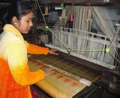 Pat Silk (otherwise called Paat Silk) begins from Assam – where silk delivering industry is built up for three significant silks of the east Human Puppet, Mekhela Chador, Handloom Weaving, Shades Of White, Mulberry Silk, Western Outfits, S Pic, Making Out, Silk Sarees