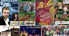 Agenda | Bicis y motos + carnaval en los barrios + circo + teatro infantil + música solidaria + cabaret