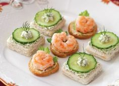 Shrimp Cocktail Canapés