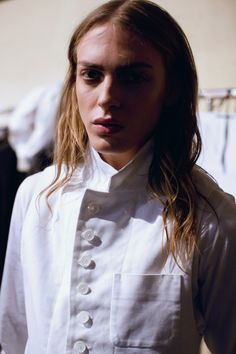 Semana de Moda Masculina de Paris/Inverno 2014 - Ann Demeulemeester