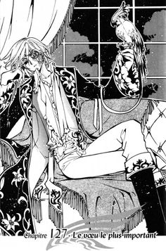 """Fay D. Flourite from """"Tsubasa Reservoir Chronicle"""" by CLAMP"""