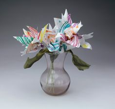 Accordion-Fold Flowers