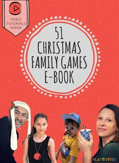 Christmas is coming so fast, but you are still thinking about the holiday evening activities like Christmas family games? Curious how to find the best ones? Here is where this book we've created comes in handy! Start creating some childhood memories with the first ever VIDEO E-BOOK for CHRISTMAS FAMILY GAMES! #ChristmasFamilyGames #ChristmasFamilyActivities #FunChristmasGames #FunChristmasGamesForKids #ChristmasForKids #ChristmasIdeasForKids #TheBestChristmasGames #HilariousChristmasGames