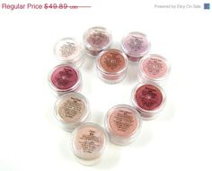 60 OFF EVERYTHING SALE Pink Eye Shadow by MadisonStreetBeauty, $19.96