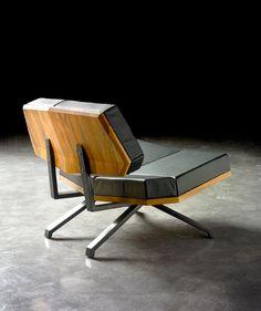 'Shanghai Lounge Chair' | Design: Thomas Wütrich & Yves Raschle for INCH Furniture | Photos: Mark Niedermann - Via