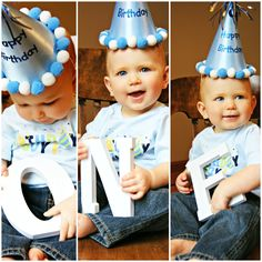 First Birthday photo picture ideas