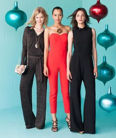 holiday #jumpsuit options ✨ #holidaydressing #TrinaTurk