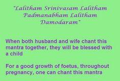 Lalitham Srinivasam Lalitham Padmanabham Lalitham Damodaram