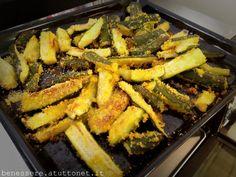 Le zucchine croccanti impanate di mais, sono un ottimo contorno dietetico, solo 105 kcal, che si cucina velocemente. In mezz'ora avrete una ricetta light e gustoso, che possono mangiare anche i celiaci.