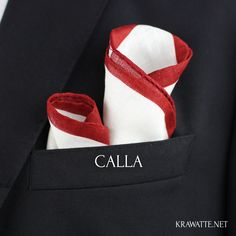 Etwas auffälliger, aber nicht minder stylisch: Die Calla-Faltung