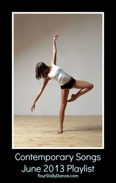 Contemporary Songs For Dancers...
