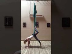 AIReal Yoga™ Hip hang sequence with Carmen Curtis