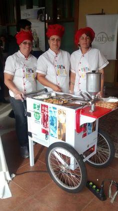 Carrinho de churros da Caique Eventos SP.