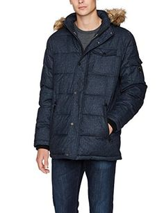 """Quilted poly-printed parka with removable faux fur strip       Famous Words of Inspiration...""""I find my greatest pleasure, and so my reward, in the work that precedes what the world calls success.""""   Thomas A. Edison — Click here for more...  More details at https://jackets-lovers.bestselleroutlets.com/mens-jackets-coats/lightweight-jackets/varsity-jackets/product-review-for-nautica-mens-quilted-parka-jacket-with-remova"""