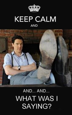 This is what would happen inside my head if he were near...I'd contemplate various scenarios, most likely remain silent & secretly excited- then go on my merry way thinking OMG that was Benedict Cumberbatch!