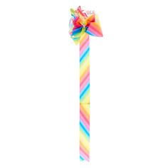 "<P>So you've collected all of JoJo Siwa's bows but now you have the issue because you have nowhere to keep them! Here at Claire's we've created the perferct holder for your JoJo's Bows! </P><P><STRONG>Bow Holder</STRONG> by <STRONG>JoJo Siwa©</STRONG></P><UL><LI>L 30"" &l..."