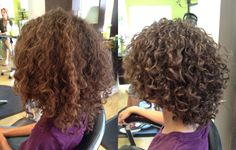 Vickie Vela @ Curls on Top Hair Studio What a difference!