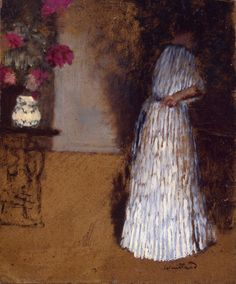 Young Woman in a Room - Vuillard Edouard