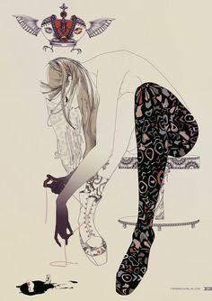 inspiring  | Inspiring Illustration by Yana Moskaluk