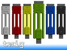 Twig ...the portable iPhone charger, dock, and tripod! Excited about it finally being released.