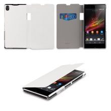 Funda Xperia Z1 Made For Xperia - Flip Cover Polar Blanco  $ 306.11