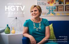 HGTV Magazine Editor in Chief Sara Peterson  #theeverygirl
