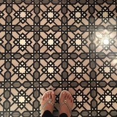 "(@patternatelier) on Instagram: ""My first tile shot! So happy ! 😀😀#ihaveathingwithfloors #ihaveathingforfloors"" Surface Pattern Design, Miller Sandal, Tory Burch, Tile, Gucci, Shoulder Bag, Sandals, Happy, Bags"