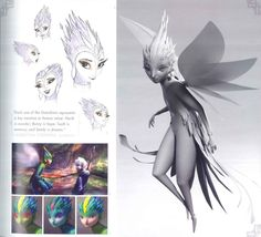 Tooth Fairy visual development for Rise of the Guardians