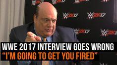 WWE 2K17 interview with Paul Heyman (Heyman acts like a total butt brain) https://www.youtube.com/attribution_link?a=0Wc5Gfs8qbU&u=%2Fwatch%3Fv%3DWi-aVZ88VY0%26feature%3Dshare