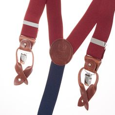 Bretelles Bordeaux Superior en cuir 35MM, vous pouvez les utiliser avec un pantalon spécifique ou simplement avec les clips.  Superior Burgundy Leather 35 MM  http://www.lecolonelmoutarde.com/fr/bretelles/bretelles-superior-bordeaux-35-mm-502.html